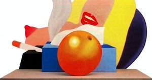 Tom Wesselmann - Great American Nude No.99