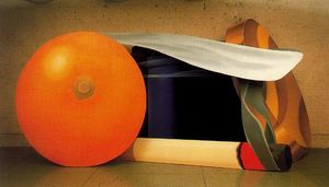 Tom Wesselmann - Still Life with Blue Jar and cigarette smoking