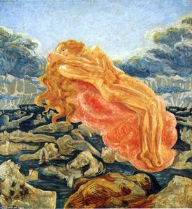 Umberto Boccioni - The dream (Paolo and Francesca)