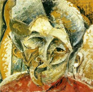 Umberto Boccioni - Dynamism of a Woman-s Head