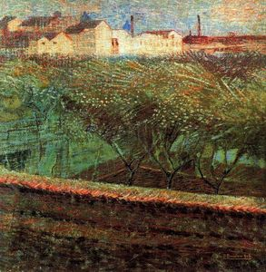 Umberto Boccioni - April Evening