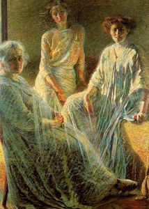 Umberto Boccioni - Three Women - (Famous paintings)