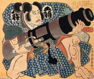 Utagawa Kuniyoshi - The actor (9)