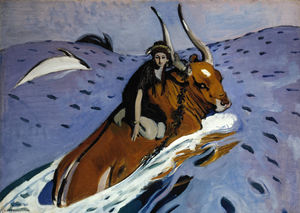 Valentin Serov - The Rape of Europa