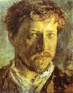 Order Art Reproductions | Self-Portrait by Valentin Alexandrovich Serov (1865-1911, Russia) | WahooArt.com