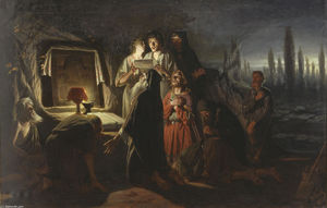 Vasily Grigoryevich Perov - First Christians in Kiev