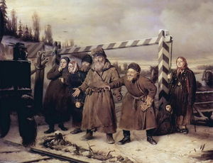 Vasily Grigoryevich Perov - On the railroad