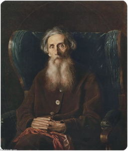 Vasily Grigoryevich Perov - Portrait of the Author Vladimir Dahl