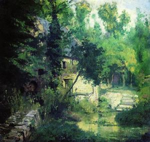 Vasily Dmitrievich Polenov - The mill on the source of the river Vel