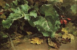 Order Reproductions | Burdocks, 1875 by Vasily Dmitrievich Polenov | WahooArt.com