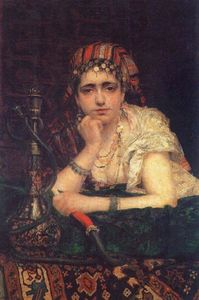 Vasily Dmitrievich Polenov - Odalisque