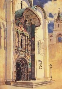Vasily Dmitrievich Polenov - The Uspensky Cathedral. South Gates.