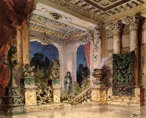 Vasily Dmitrievich Polenov - Hall in the Magic Castle