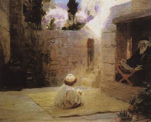Vasily Polenov - Was filled with wisdom