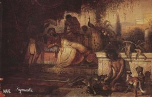 Vasili Ivanovich Surikov - A rich man and Lazarus