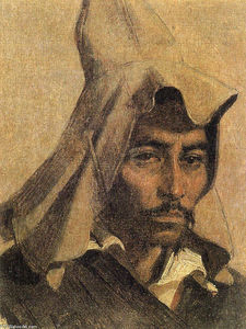 Vasily Vasilevich Vereshchagin - Kazakh with his national headdress