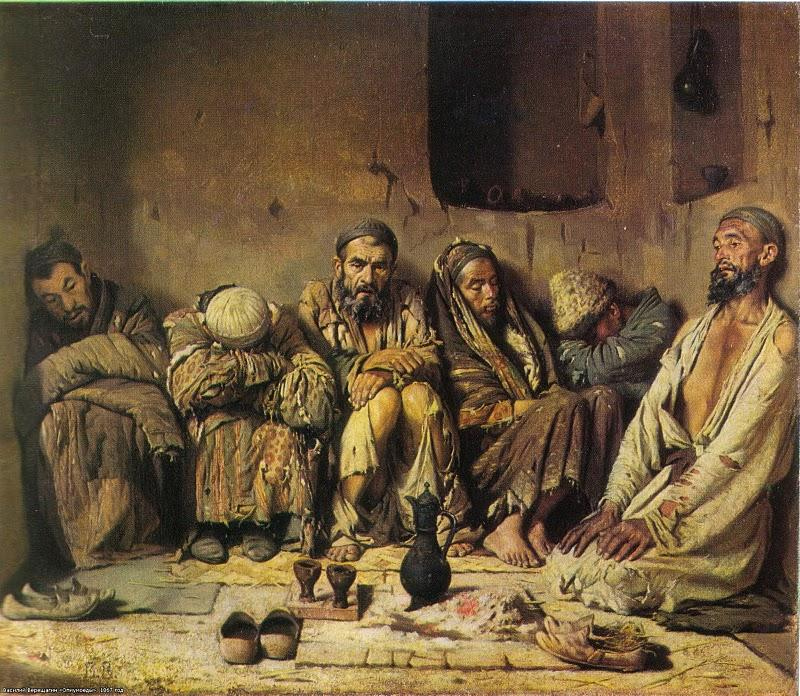 Opium Art Eaters of opium...