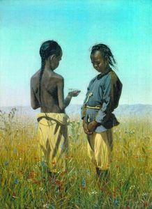 Vasily Vasilevich Vereshchagin - The children of the tribe Solonov