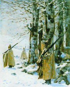 Vasily Vasilevich Vereshchagin - Picket in the Balkan Mountains