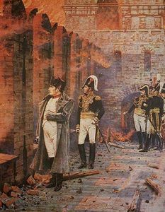 Vasily Vasilevich Vereshchagin - In the Kremlin - A Fire