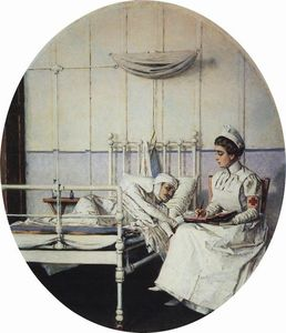 Vasily Vasilevich Vereshchagin - Letter to home (Letter to Mother)