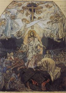 Victor Vasnetsov - Descent into Hell