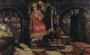Victor Vasnetsov - Kashchei the Immortal