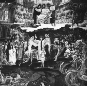 Victor Vasnetsov - Last Judgment