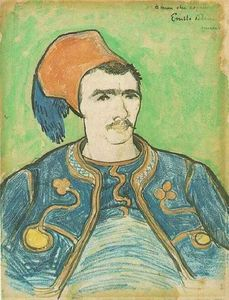 Vincent Van Gogh - The Zouave Half Length