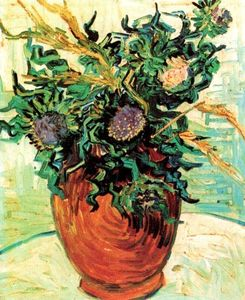 Vincent Van Gogh - Still Life with Thistles