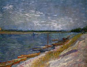 Vincent Van Gogh - Moored Boats