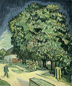 Vincent Van Gogh - Chestnut Trees in Blossom