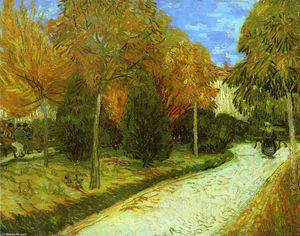 Vincent Van Gogh - Path in the Park at Arles