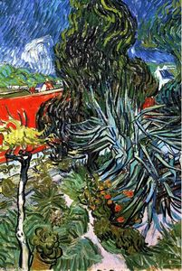 Vincent Van Gogh - The Garden of Doctor Gachet at Auvers-sur-Oise