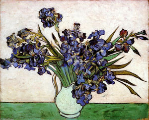 Vincent Van Gogh - Vase with Irises