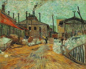 Vincent Van Gogh - The Factory at Asnieres