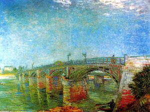 Vincent Van Gogh - The Seine Bridge at Asnieres
