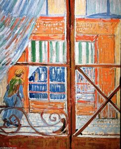Vincent Van Gogh - A Pork-Butcher-s Shop Seen from a Window