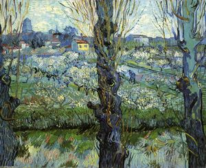 Vincent Van Gogh - Orchard in Bloom with Poplars