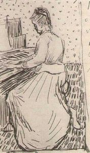 Vincent Van Gogh - Marguerite Gachet at the Piano