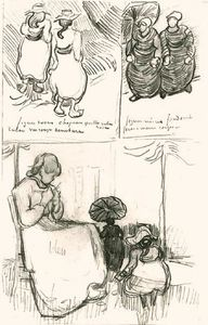 Vincent Van Gogh - Three Studies