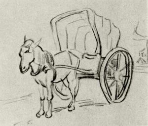 Vincent Van Gogh - Carriage