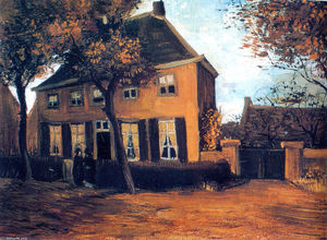 Vincent Van Gogh - The Vicarage at Nuenen