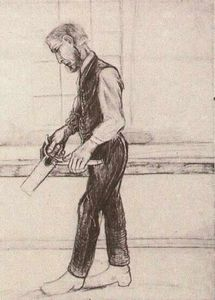 Vincent Van Gogh - Man with Saw