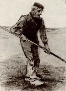 Vincent Van Gogh - Peasant with a Stick