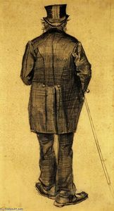 Vincent Van Gogh - Old Man in a Tail-coat