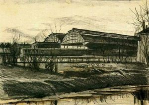 Vincent Van Gogh - Station in The Hague