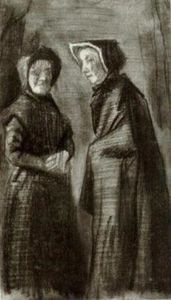 Vincent Van Gogh - Two Women