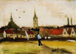 Vincent Van Gogh - View of The Hague with the New Church