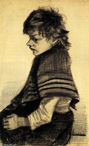 Vincent Van Gogh - Girl with a Shawl